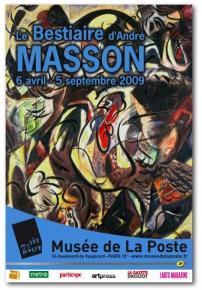 Le Bestaire d'André Masson - Musée de La Poste