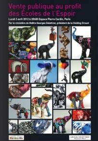 Des éléphants pour aider les enfants - Club Beaux-Arts AUJF - Espace Pierre Cardin