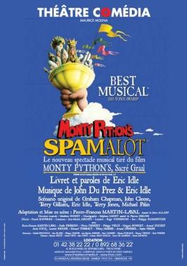 Monty Python's Spamalot - Theatre Comedia