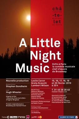 A Little Night Music - Théâtre du Châtelet