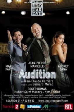 audition - theatre edouard VII