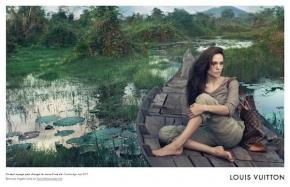 Angelina Jolie - publicité Core Values Louis Vuitton