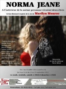 Norma Jeane - Théâtre des deux rêves