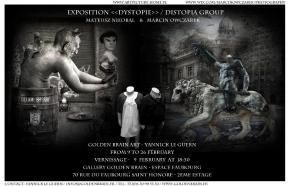 Dystopie - Golden Brain Art - Espace Faubourg