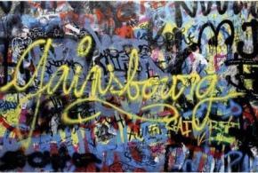 Hommages Graffiti à Gainsbourg - Renoma Café Gallery