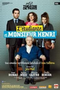 L'Etudiante et Monsieur Henri - Petit théâtre de Paris