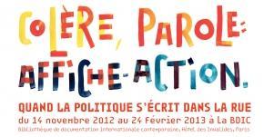 Affiche Action ! Quand la politique s'écrit dans la rue - Hôtel des Invalides