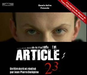 Article 23 - drame de Jean-Pierre Delépine