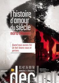 L'histoire d'amour du siecle - Theatre Les Dechargeurs