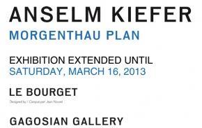Anselm Kiefer - Morgenthau Plan - Gagosian Gallery Le Bourget