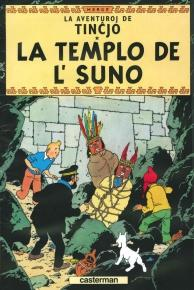 Tintin parle espéranto dans La Templo de l' Suno