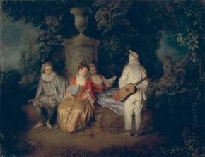 Antoine Watteau - La Leçon de Musique - Bozar