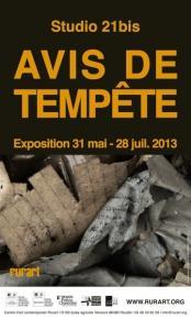 Avis de Tempête - Studio 21bis