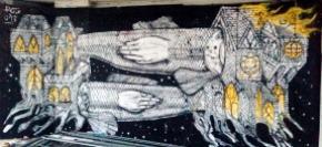 La Tour du 13eme a Paris_102 artistes de Street Art et Graffiti