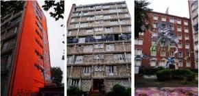 La Tour du 13eme a Paris _ 102 artistes du Street Art et Graffiti