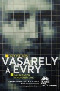 Vasarely à Evry - musée Paul Delouvrier