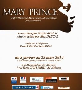 Mary Prince - Manufacture des Abbesses