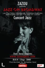 Jazz_on Broadway_Zazzoa_l_Etage