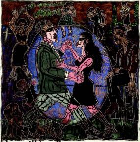Genevive-de-toutes-les-Couleurs---Robert-Combas---Grand-Thtre-de-Angers
