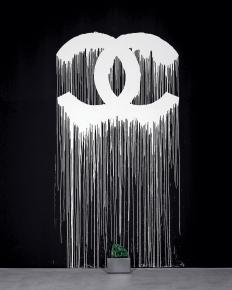 Liquidated-Logo-Chanel--Wall-drawing---Zevsonite_-Zurich-2007--ZEVS--courtesy-DepuryLuxembourg-