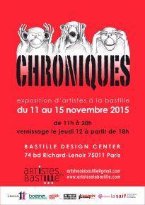 Chroniques - Artistes à la Bastille copie