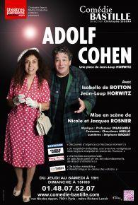 Adolf Cohen à la Comédie Bastille