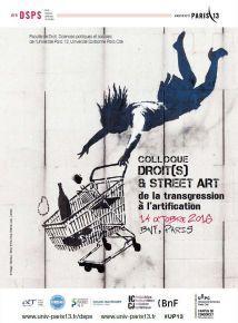 Colloque - Droits et Street Art De la transgression à lartification