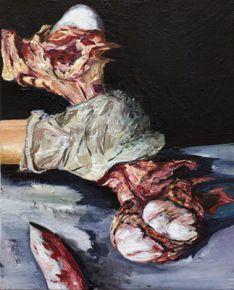 WEB-Mathieu-Boisadan-Meat-abstract-35x25cm-huile-sur-toile-2014