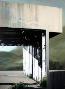 ART COLLECTOR eva-nielsen 2014 Display  encre serigraphie et acrylique sur toile 190x140cm col J DERET-