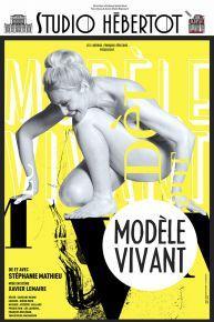 Affiche MODELE VIVANT HEBERTOT