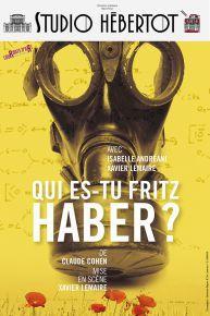 Affiche QUI ES TU FRITZ HABER HEBERTOT BD copie