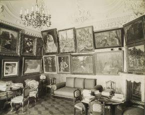VUITTON Autres vues du salon de musique peintures Degas Ma