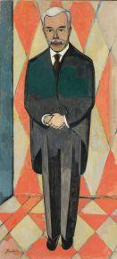 VUITTON Christian Cornelius Xan Krohn 1882-1959 Norvge Por