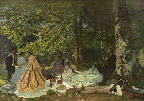 VUITTON Claude Monet Le Djeuner sur lherbe 1866 Moscou Muse dtat des Beaux-Arts Pouchkine
