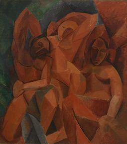 VUITTON Pablo Picasso Trois femmes Esquisse du tableau 1908  Succession Picasso 2016 Photo Moscou Muse dtat des Beaux-Arts Pouchkine