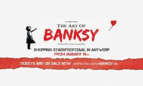 Banksy sa nouvelle exposition arrive bientôt en Belgique