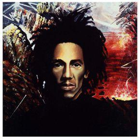 2-Natty Dread Tony Wright 1975 peinture originale pour lalbum de Bob Marley and The Wailers Natty Dread 1974 Island Tony Wright