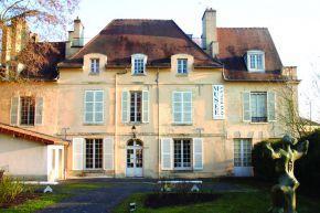 Auvers-MuseeDaubigny-Manoir des Colombieres côté jardin 1 copie