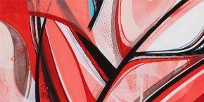 Canvas RomainFroquet Rouge Focus