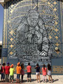 Loures arte publica Lisbonne juillet16
