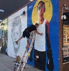 Atelier street art Centre culturel irlandais