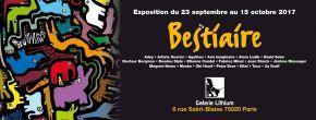 Exposition Bestiaire - ArtCraft à la Galerie Lithium