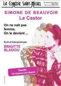 Simone-de-Beauvoir-le castor - comédie saint michel