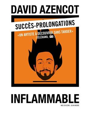 david azencot inflammable spectacle theatre artistik rezo paris