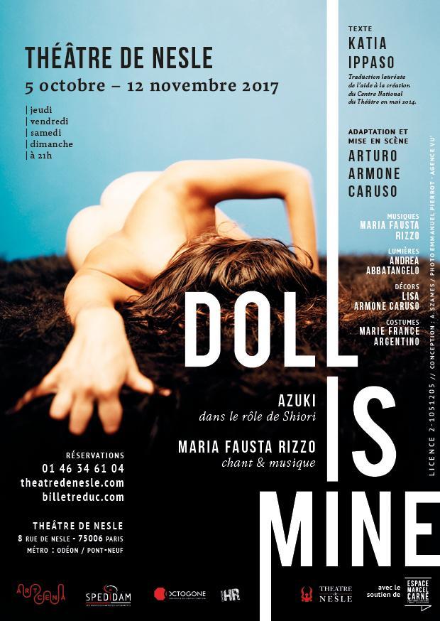 doll is mine theatre spectacle actualite artistik rezo paris