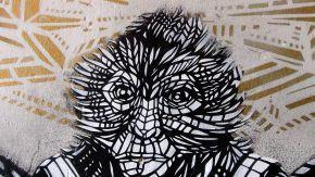 monkey bird - mur oberkampf