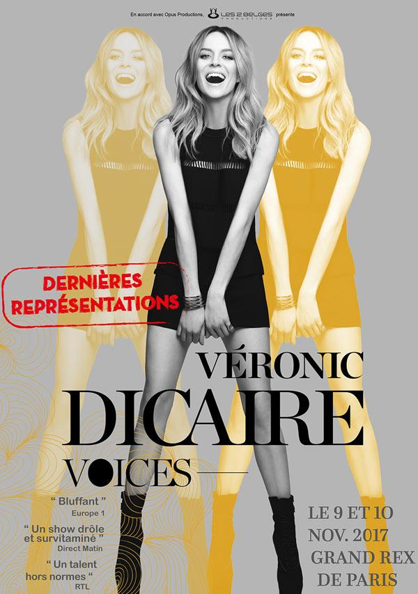 veronic dicaire spectacle voices actualité artistik rezo paris