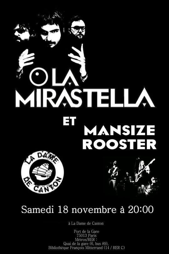 mansize rooster la mirastella la dame de canton rock pop concert musique artistik rezo paris