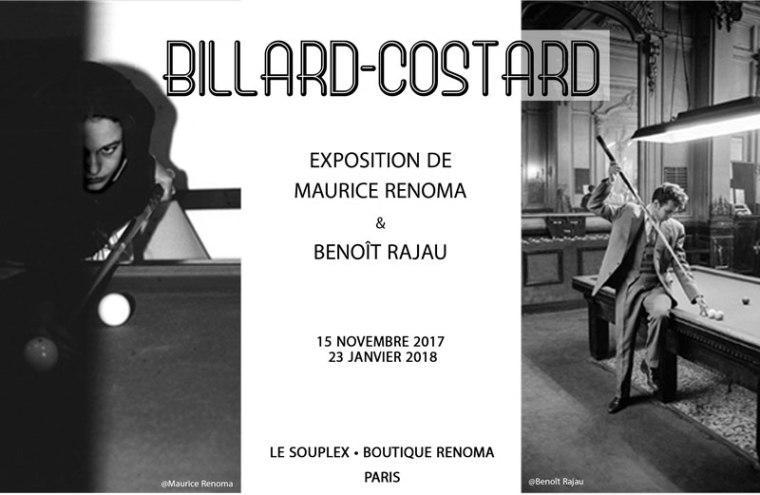 billard costard photographie renoma artistik rezo paris