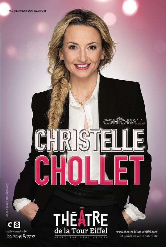 christelle chollet comic hall spectacle musique theatre de la tour eiffel artistik rezo paris